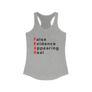 Fear Women's Racerback Tank