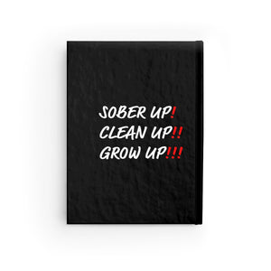 Sober Up Journal - Ruled Line