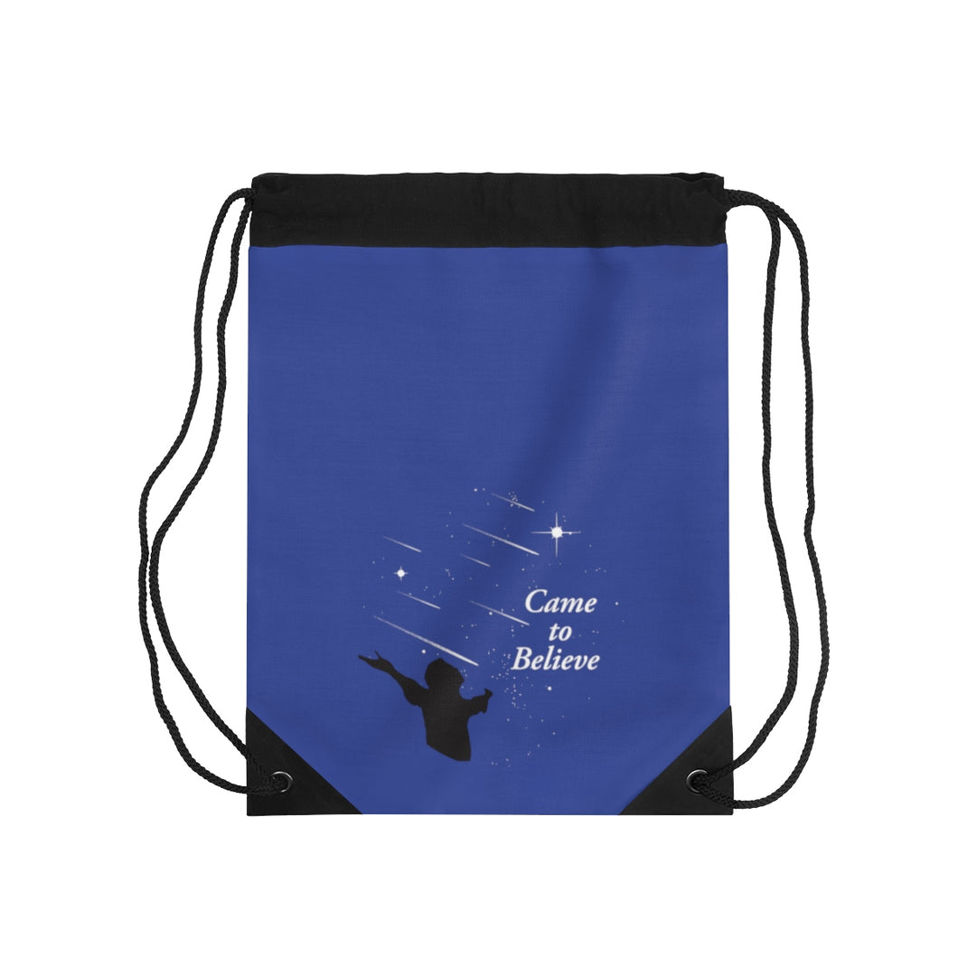 Came To Believe Drawstring Bag