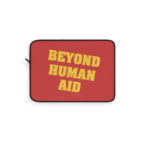Beyond Human Aid Laptop Sleeve