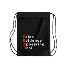 Load image into Gallery viewer, Fear Drawstring Bag