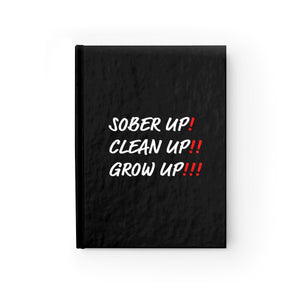 Sober Up Journal - Blank