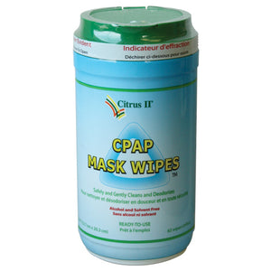 Citrus II Cpap Mask Wipes