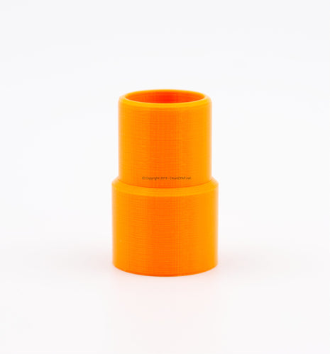 Orange Heated Tube Adapter