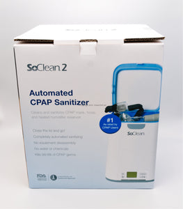 SoClean 2 CPAP Cleaner and Sanitizer Box Front