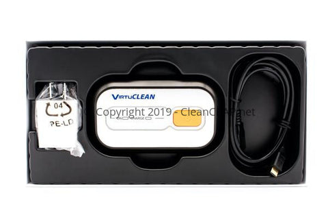VirtuClean Cpap Cleaner - Heated Tube Adapter Included