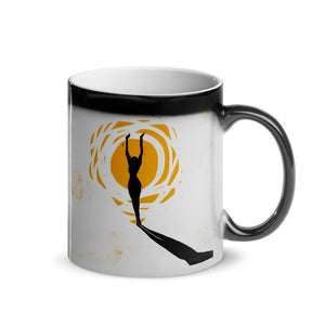 Up Early by pierre bennu Glossy Magic Mug