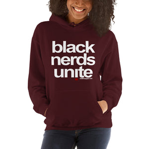 Black Nerds Unite - the unisex hoodie