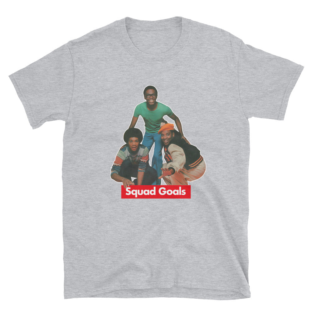 What's Happening? -  SQUAD GOALS Short-Sleeve Unisex T-Shirt