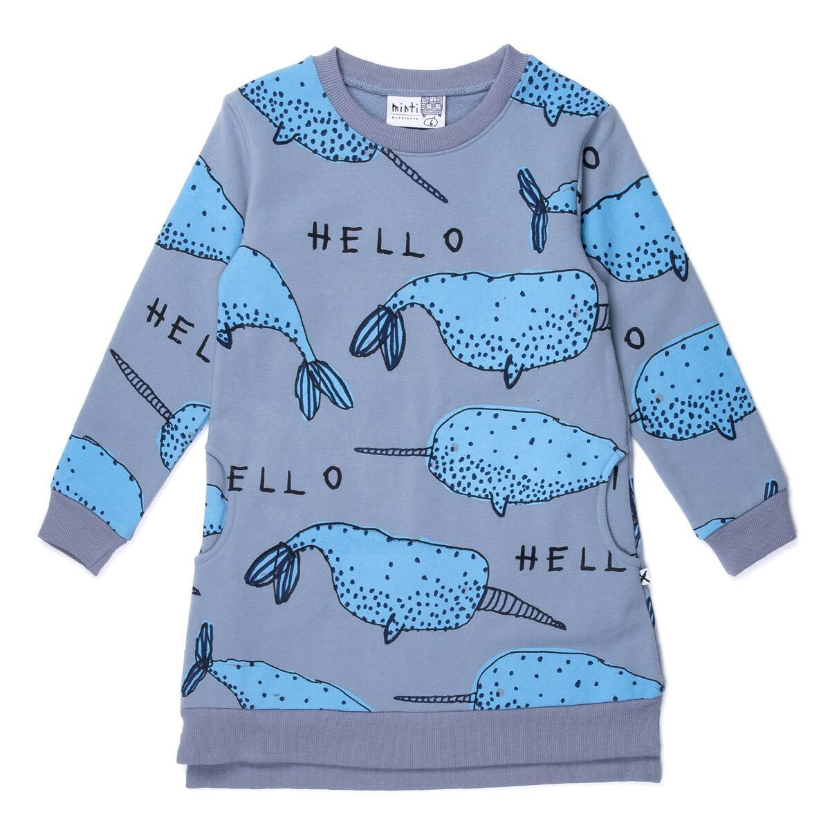 Narwhals Furry Dress