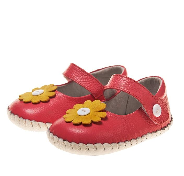 Button Bloom Mary Janes