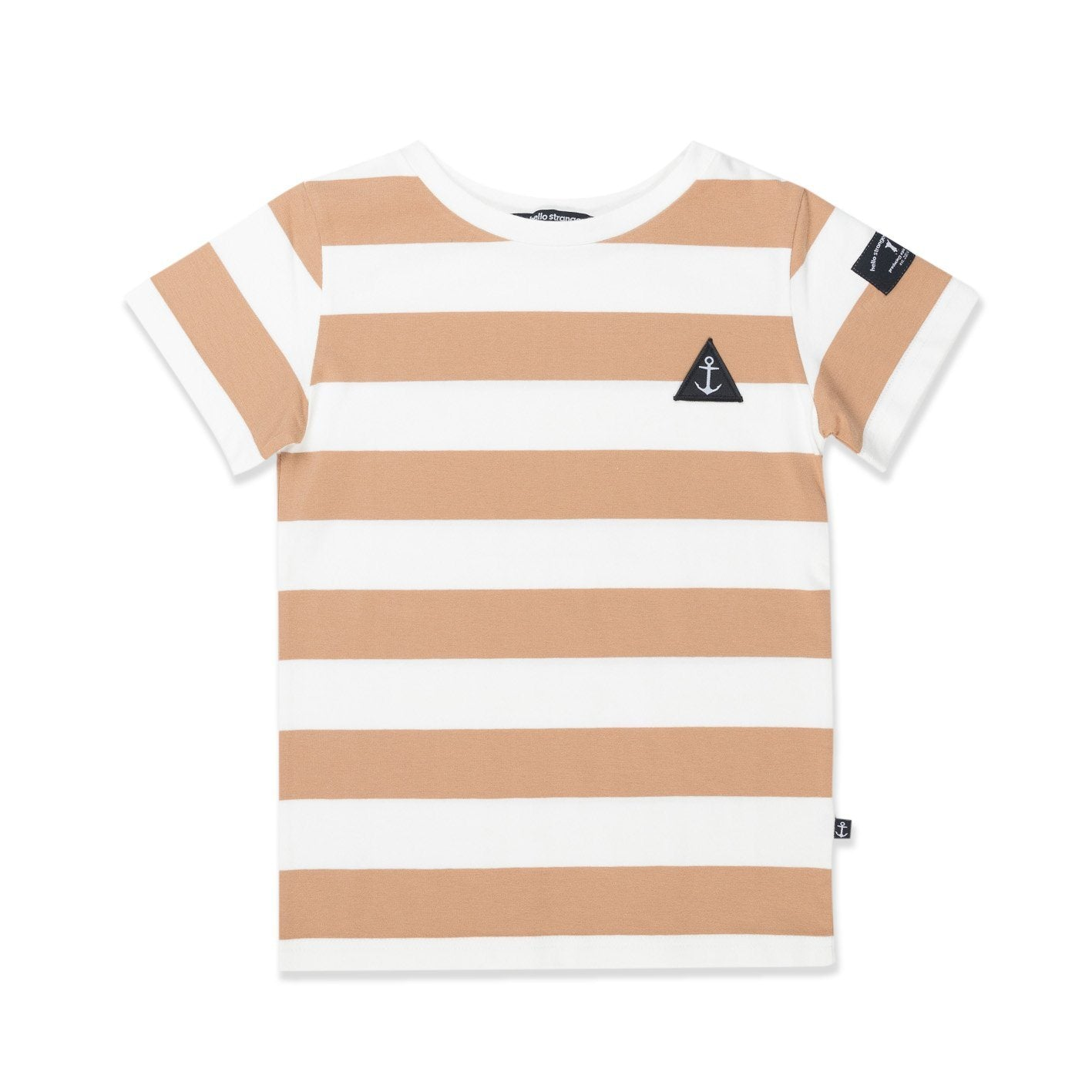 Core Tee (Brown Stripe)