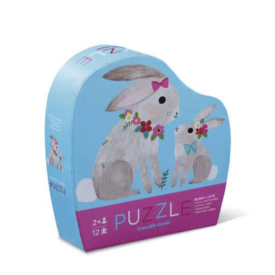 Bunny Love Puzzle (12 Pieces)