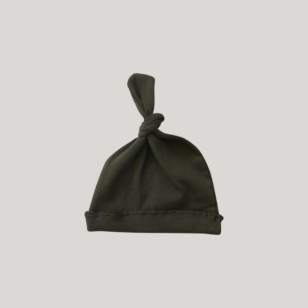 Knotted Hat (Olive)