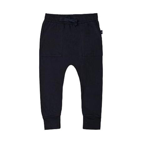 Patch Pocket Pants (Black)