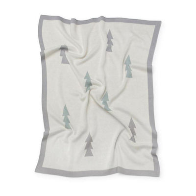 Trees Baby Blanket (Natural)