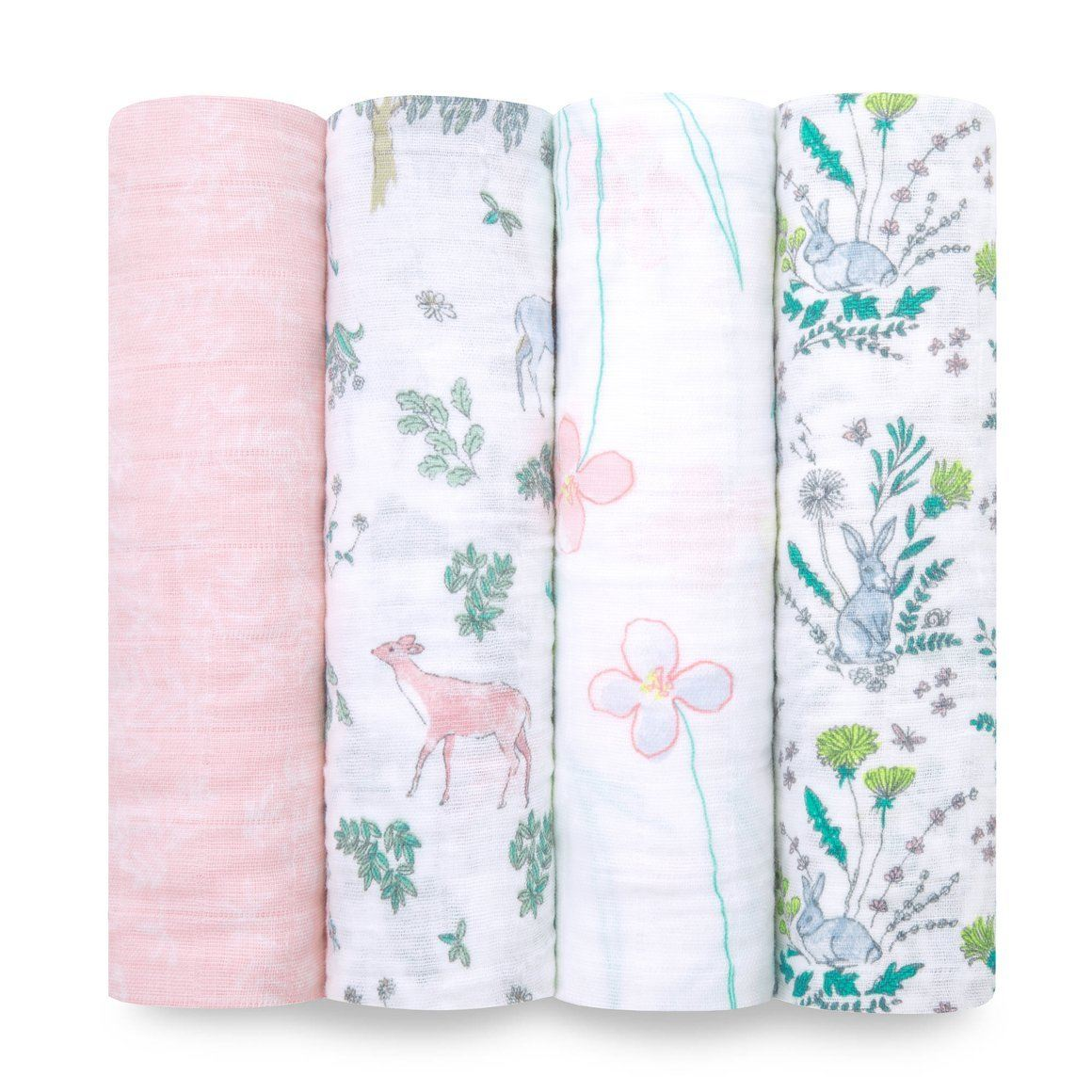 Forest Fantasy Classic Swaddles (4 Pack)