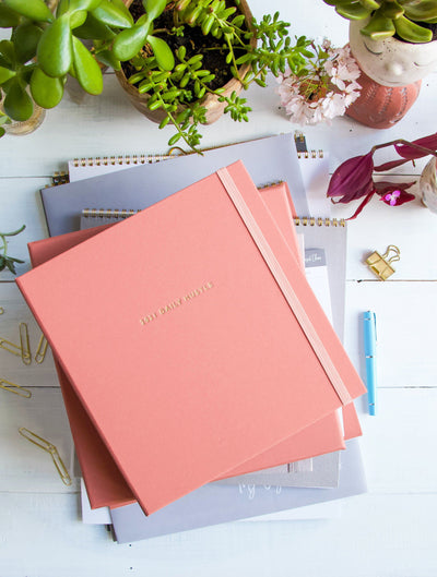2021 Daily Hustle Planner (Blush)