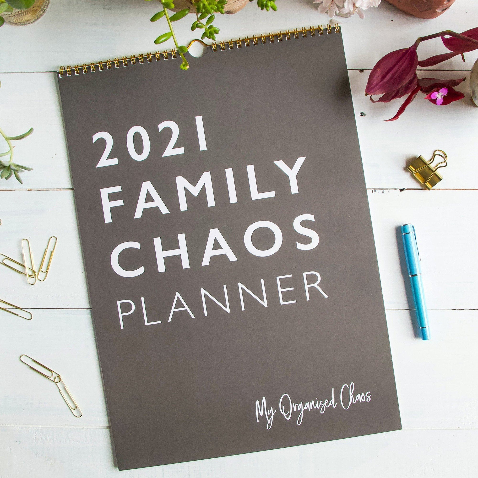2021 Family Chaos Planner