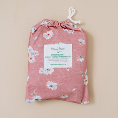 Daisy Bassinet Sheet