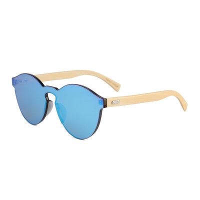 Tylah Sunglasses (Metallic Blue)
