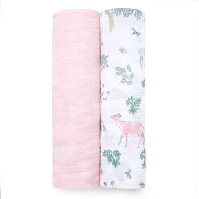 Forest Fantasy Classic Swaddles (2 Pack)