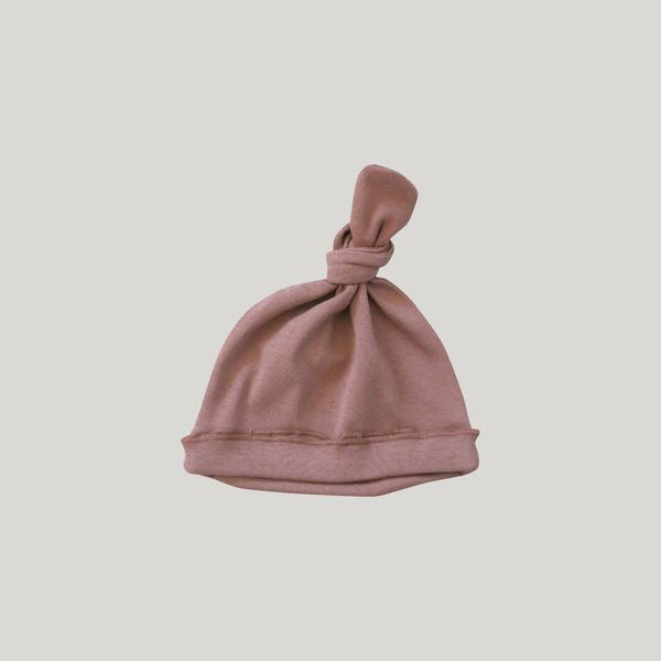 Knotted Hat (Terracotta)