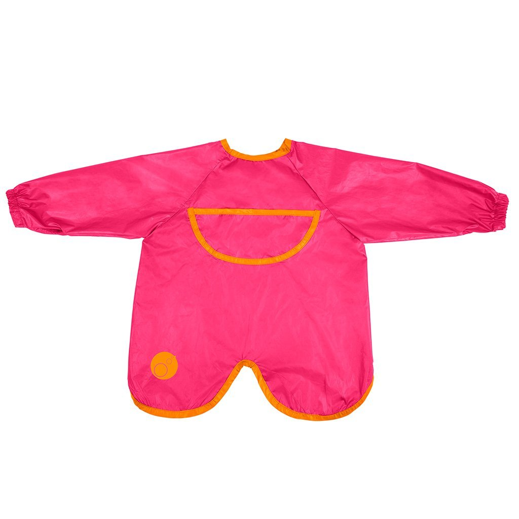 Smock Bib (Strawberry Shake)