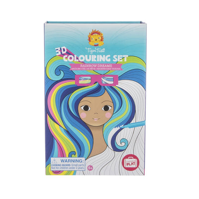 3D Colouring Set (Rainbow Dreams)