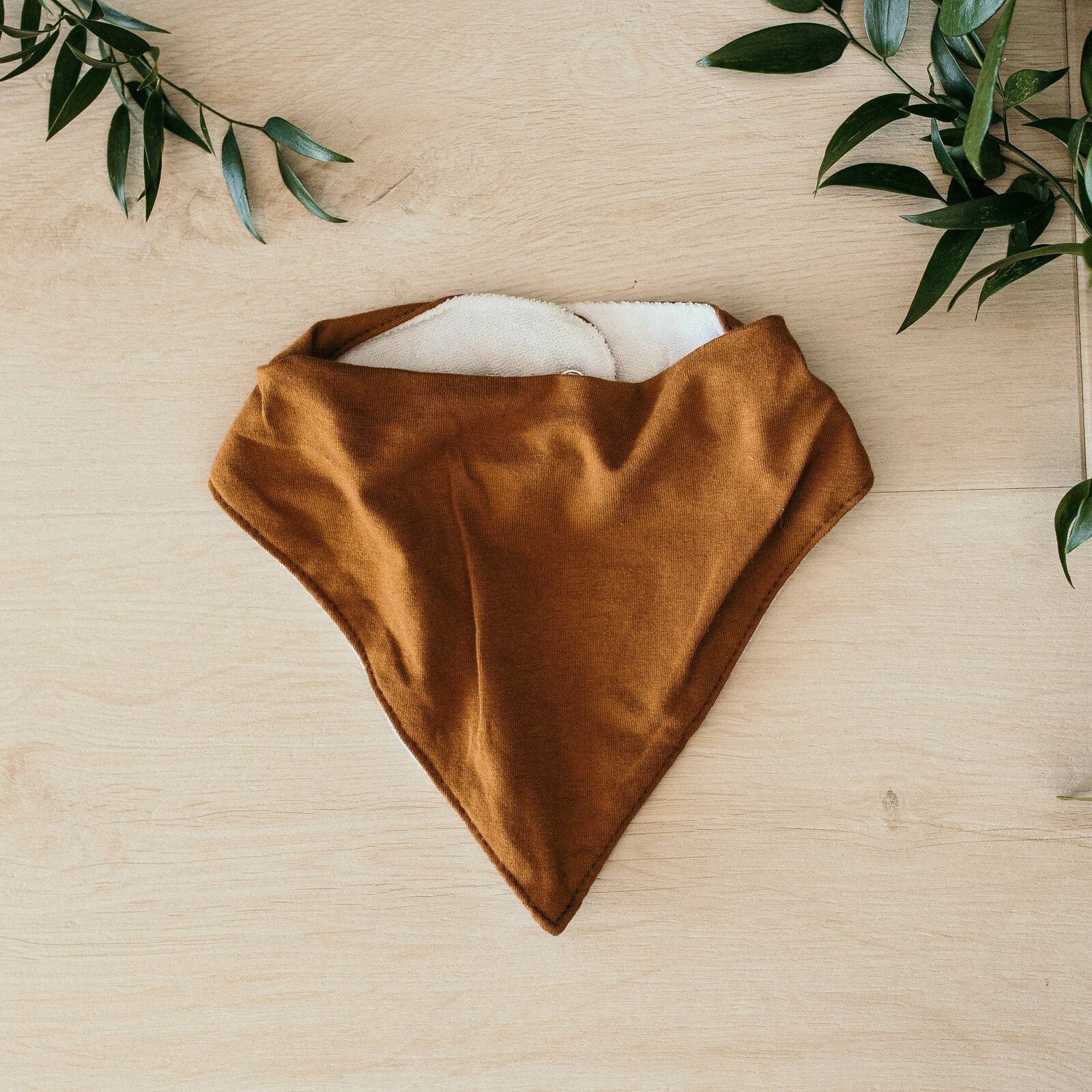 Bronze Dribble Bib