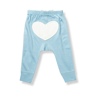 Unisex Blue Heart Pants