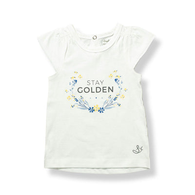 Stay Golden Flutter Tee