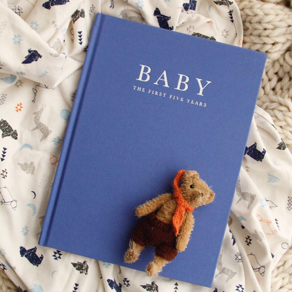 Baby Journal - Birth to 5 Years (Blue)