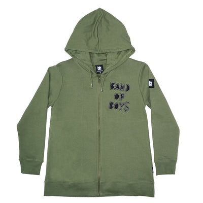 Band of Boys Stitch Zip Hoodie