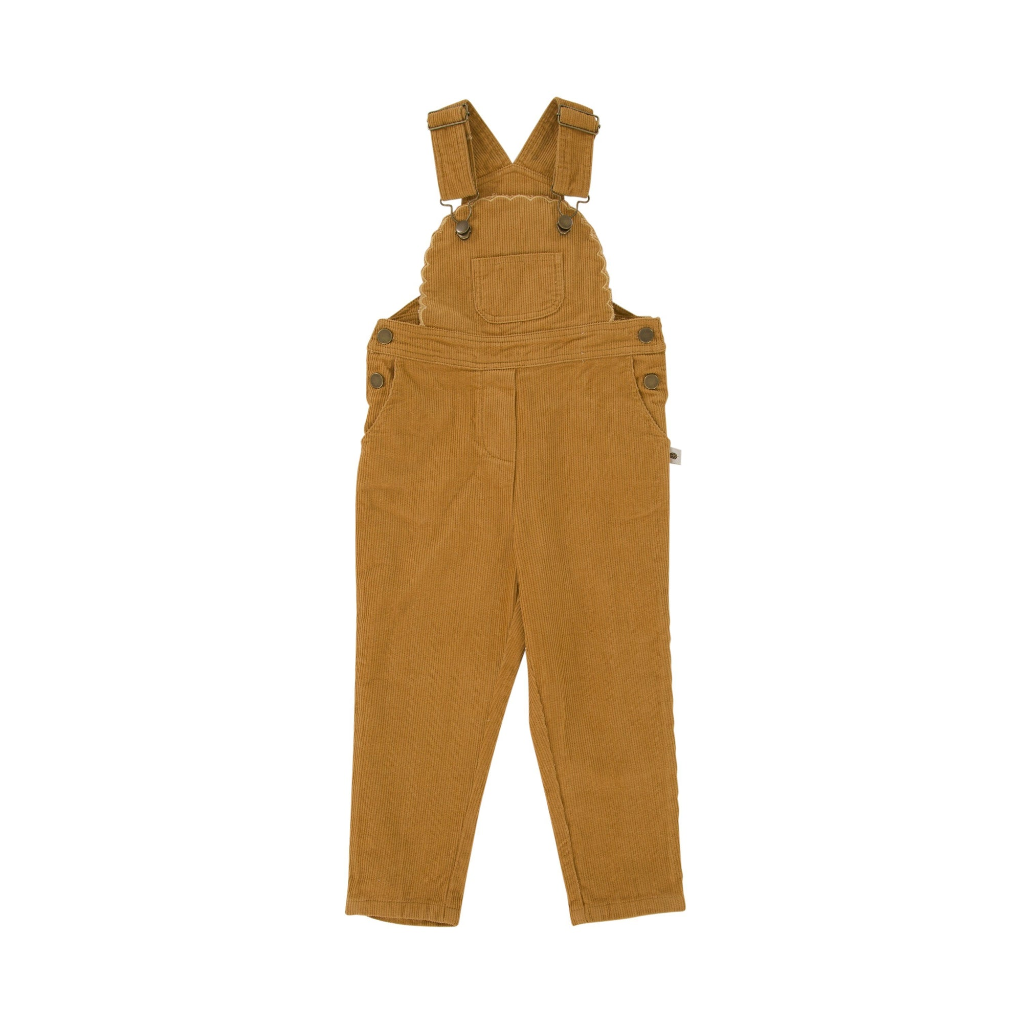 Cleo Overalls (Mustard Gold)