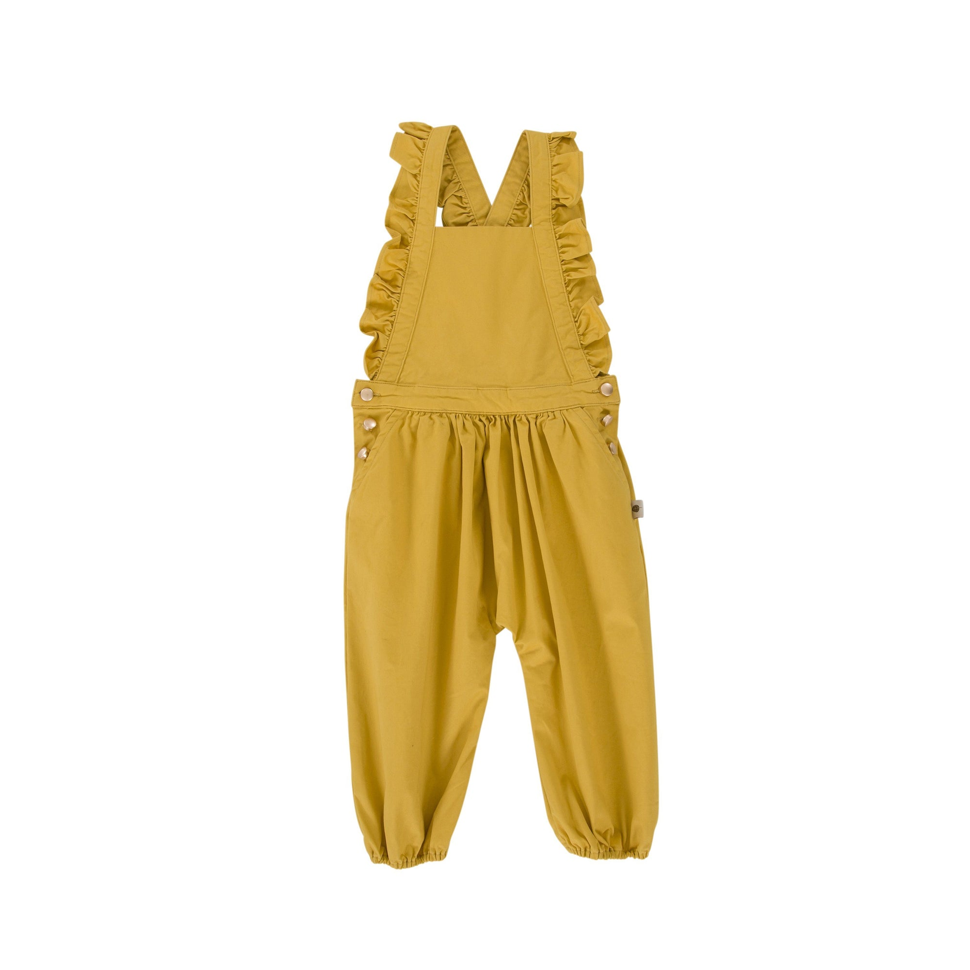 Sidney Playsuit (Mustard Gold)