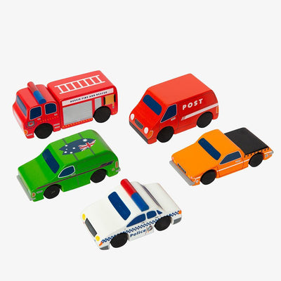 Wooden Iconic Mini Cars