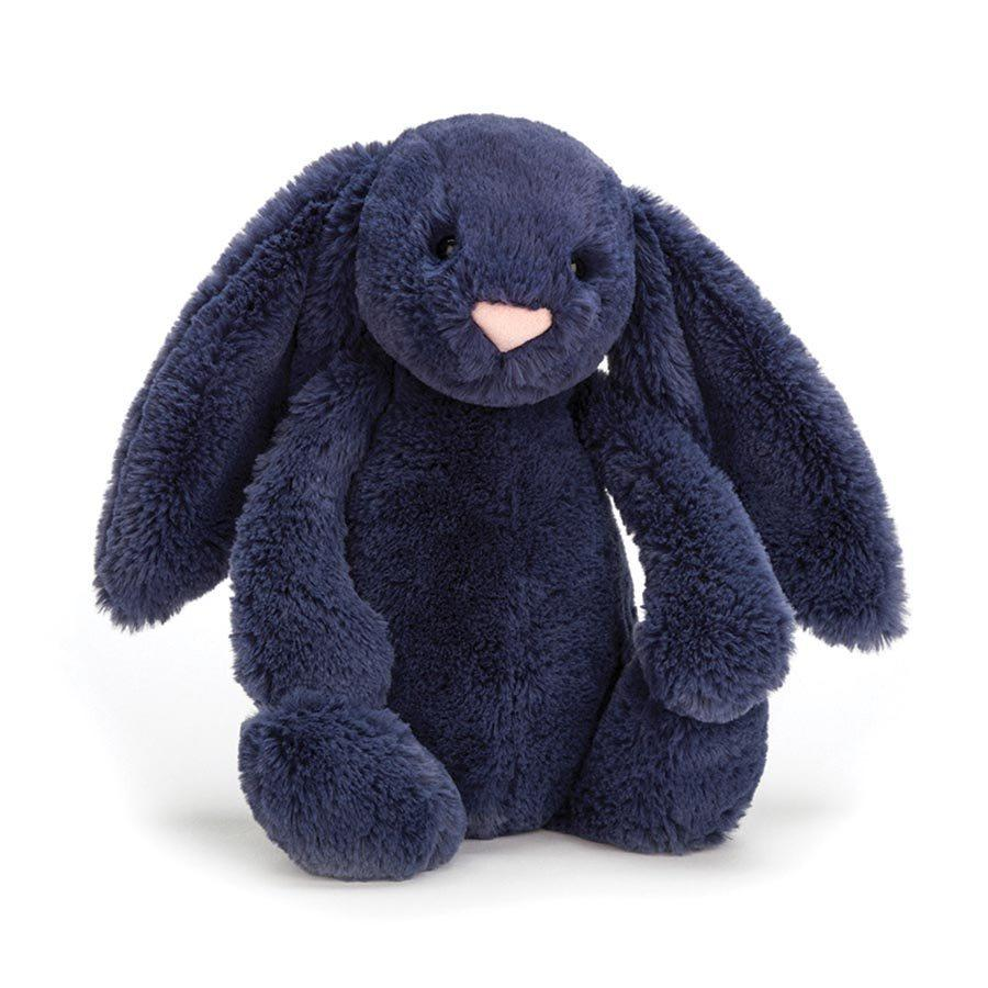 Bashful Navy Bunny (Medium)
