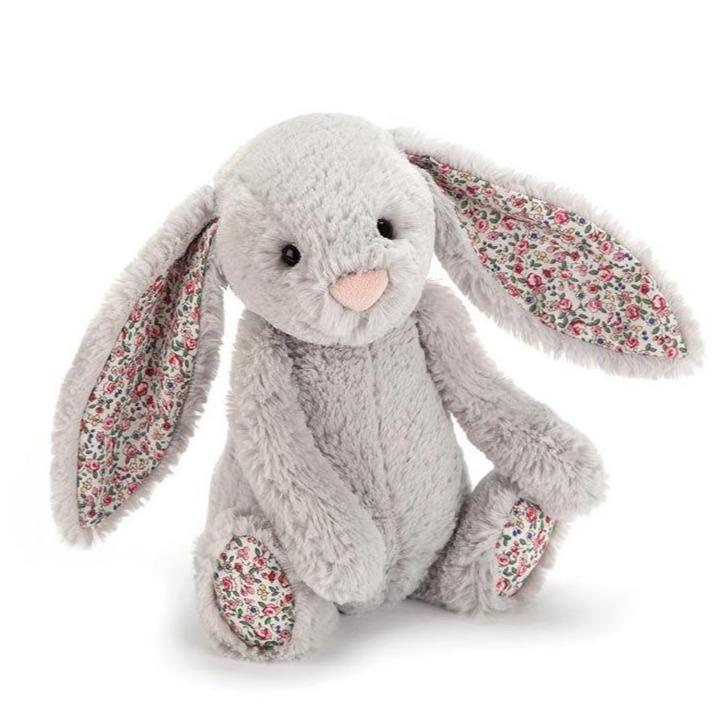 Blossom Bashful Silver Bunny (Medium)