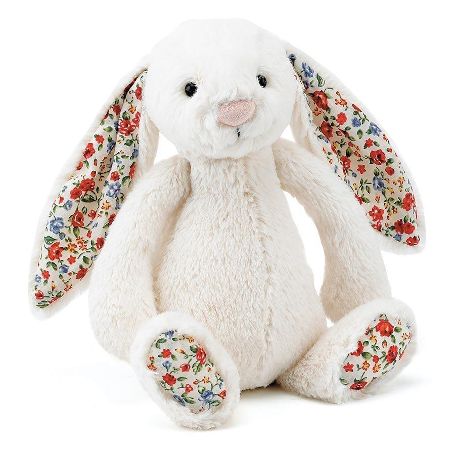 Blossom Bashful Cream Bunny (Medium)