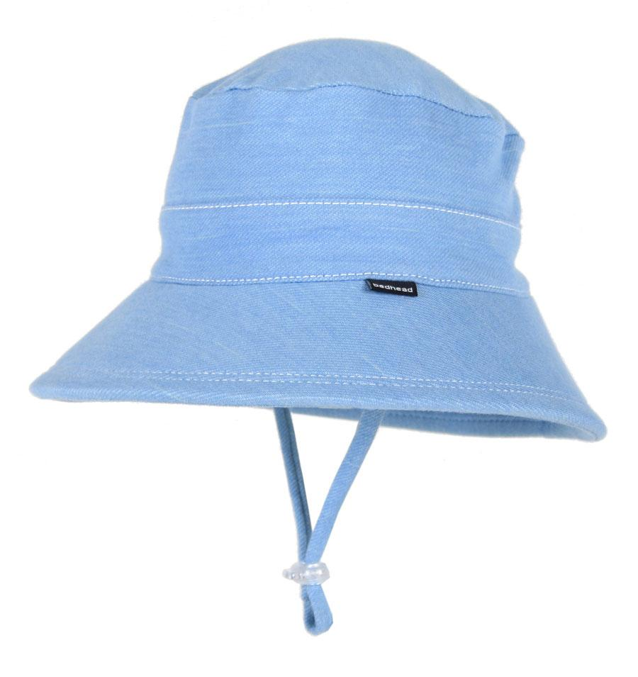 Baby Bucket Hat (Chambray)