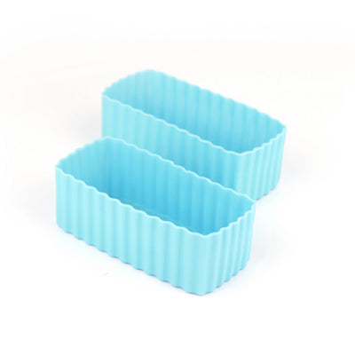 Bento Rectangle Cups (Light Blue)