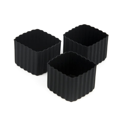 Bento Square Cups (Black)