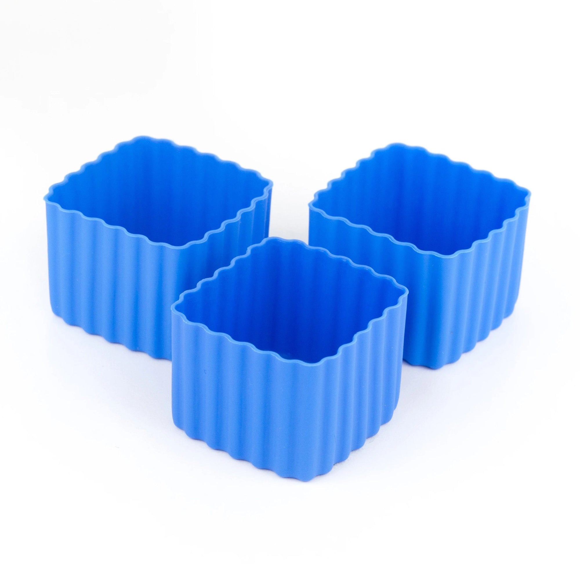 Bento Square Cups (Blue)