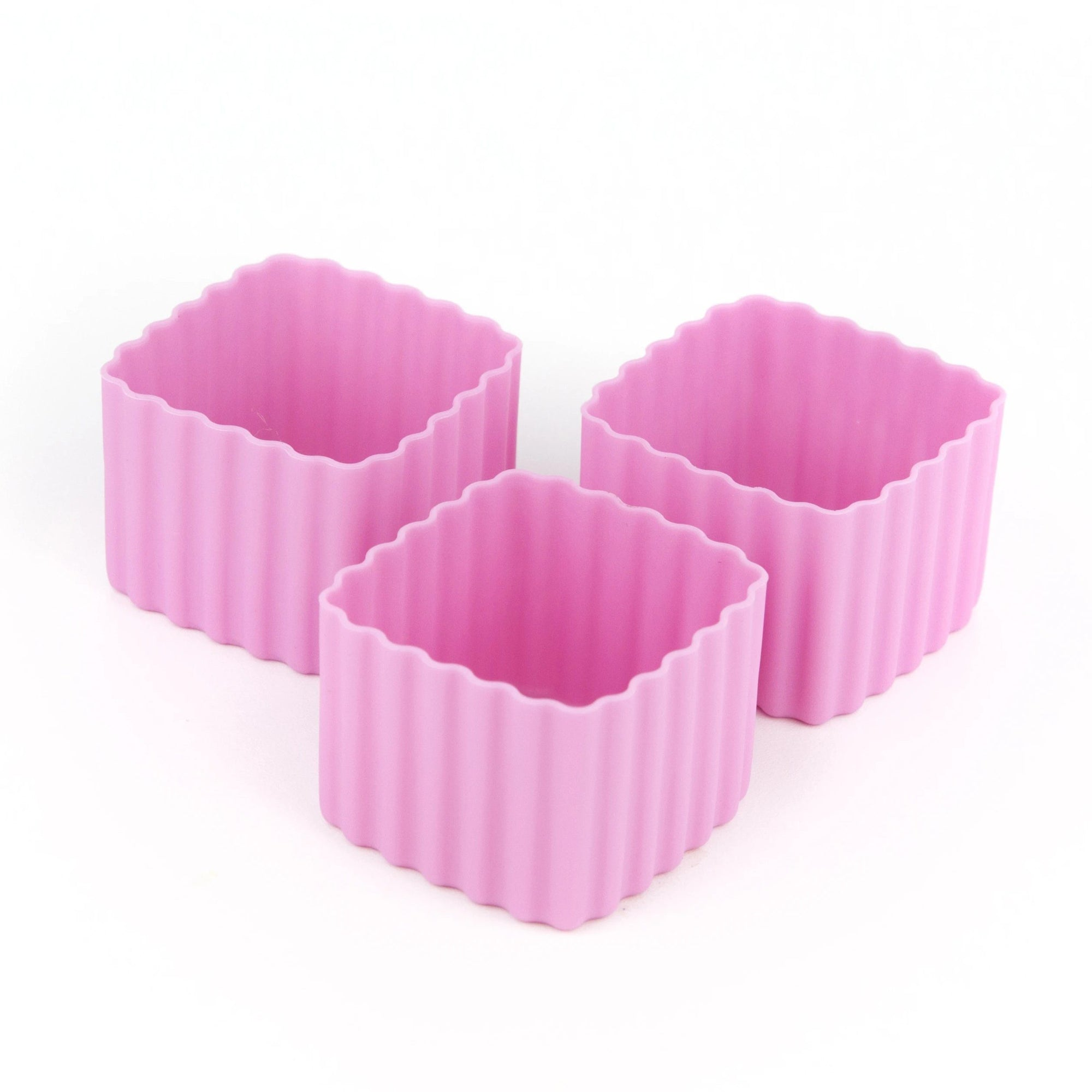 Bento Square Cups (Pink)