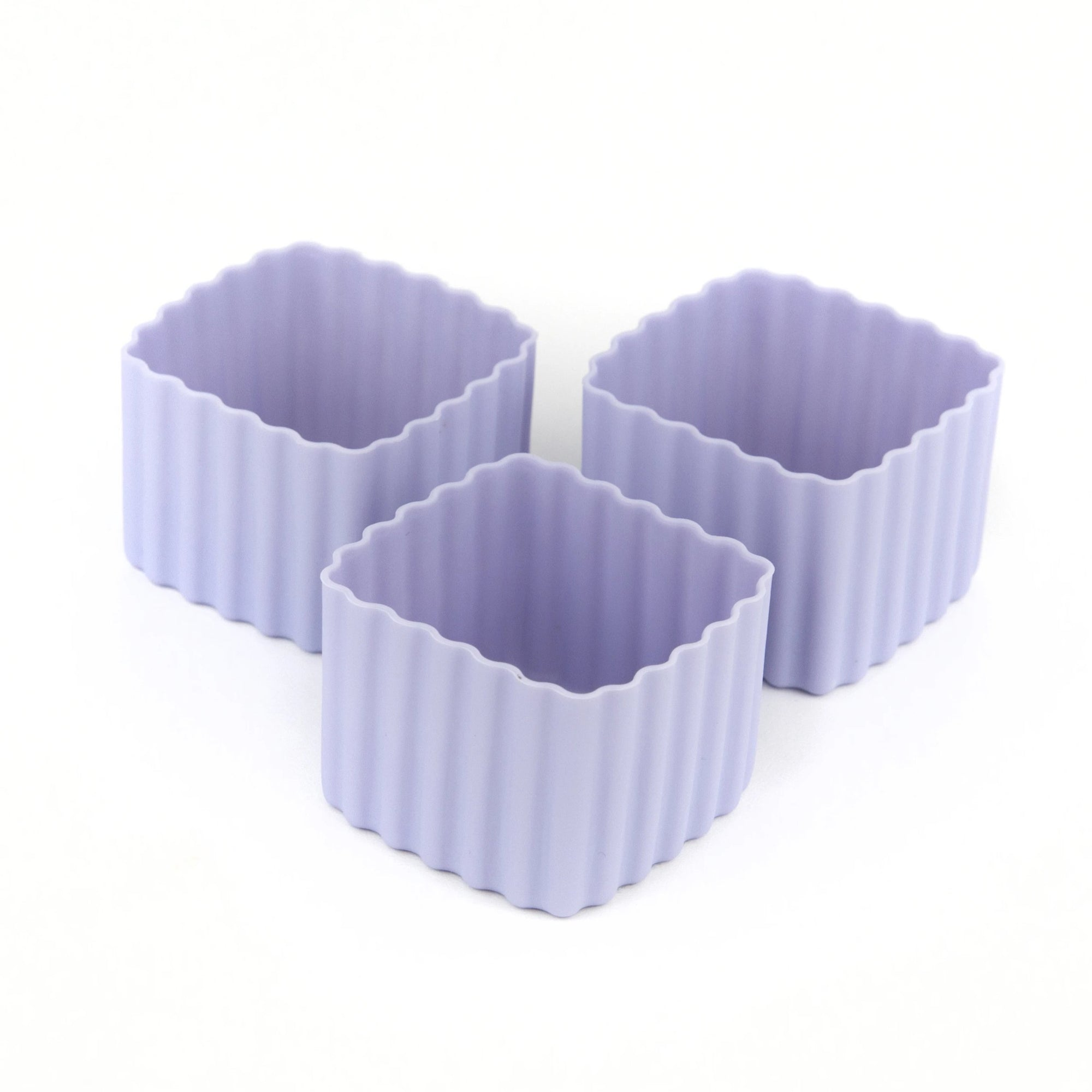 Bento Square Cups (Purple)