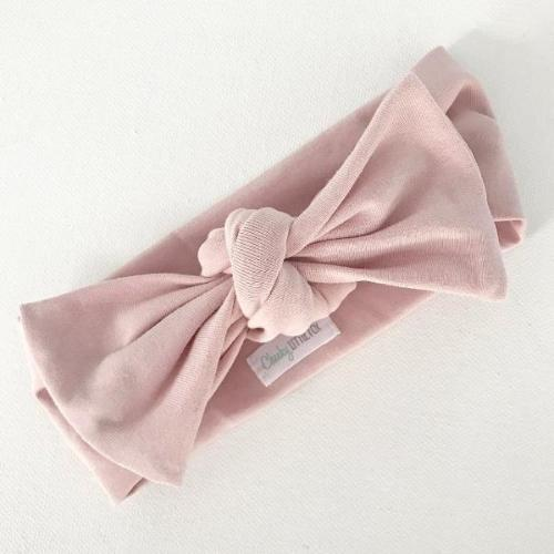 Blush Bow Top Knot