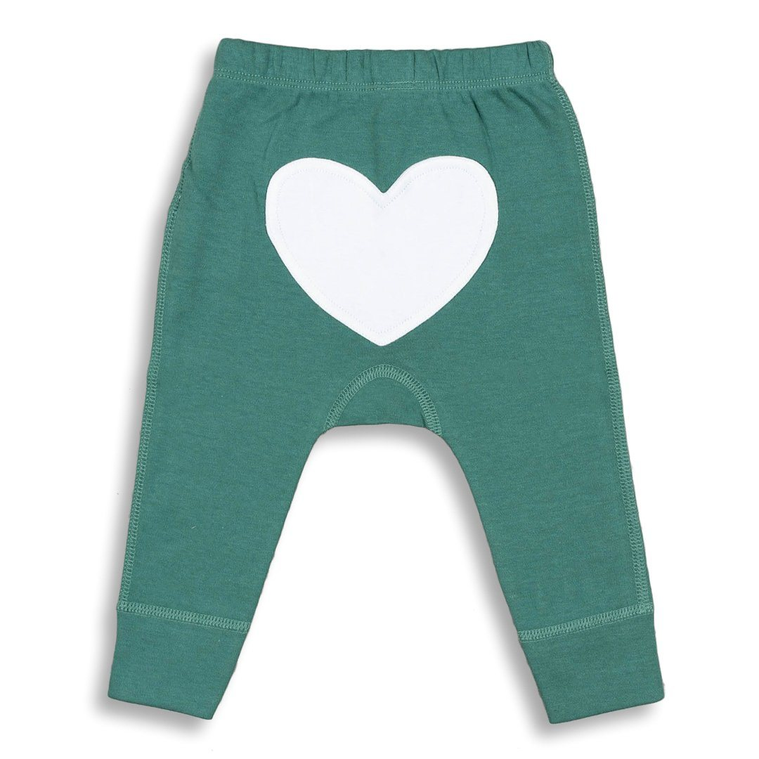 Spruce Green Heart Pants