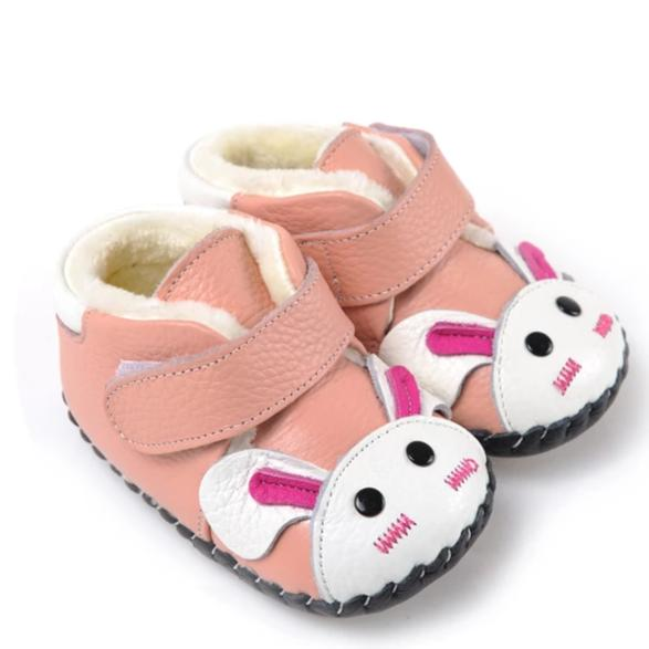 Bunny Fur Boots (Pink)