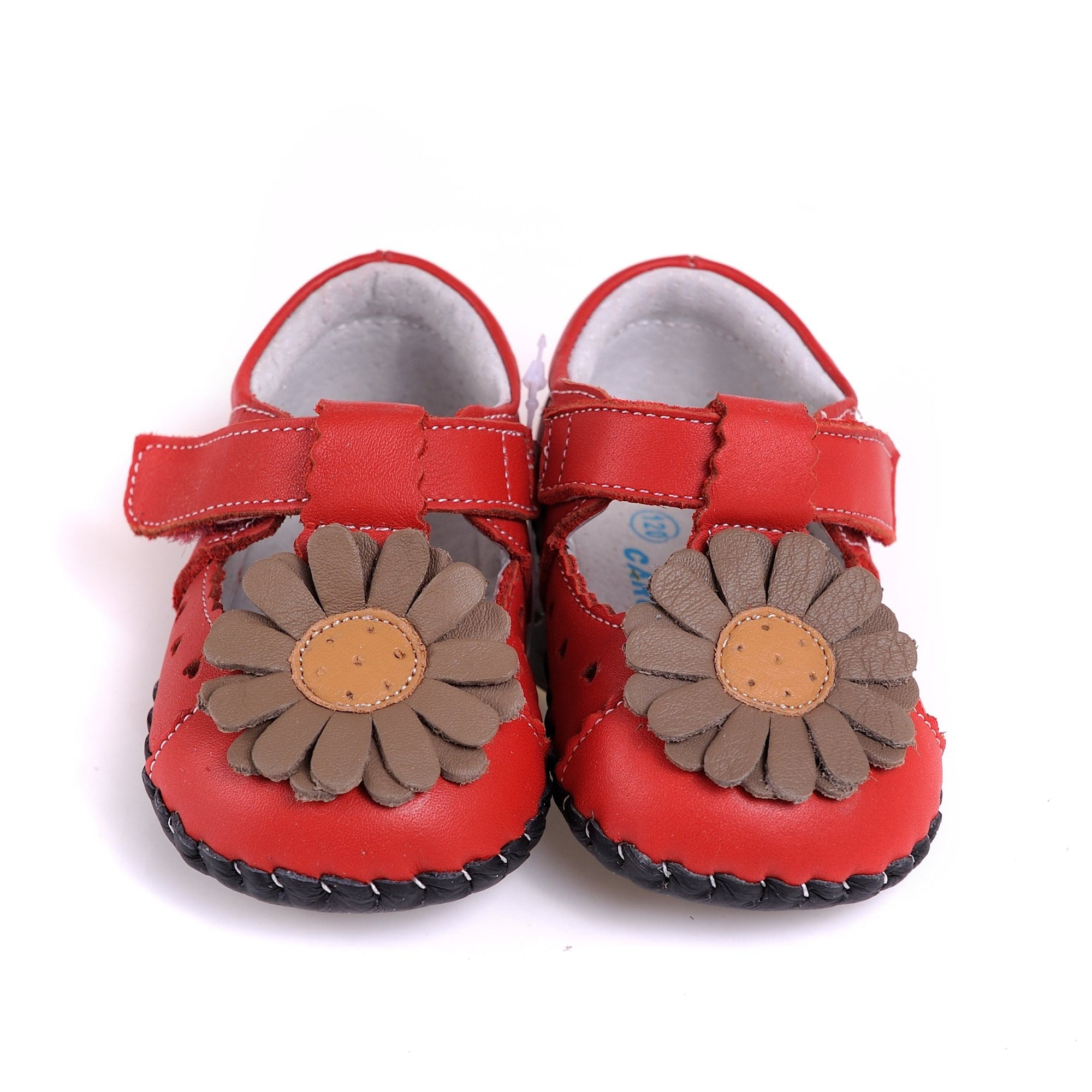 Big Daisy Mary Janes (Orange)